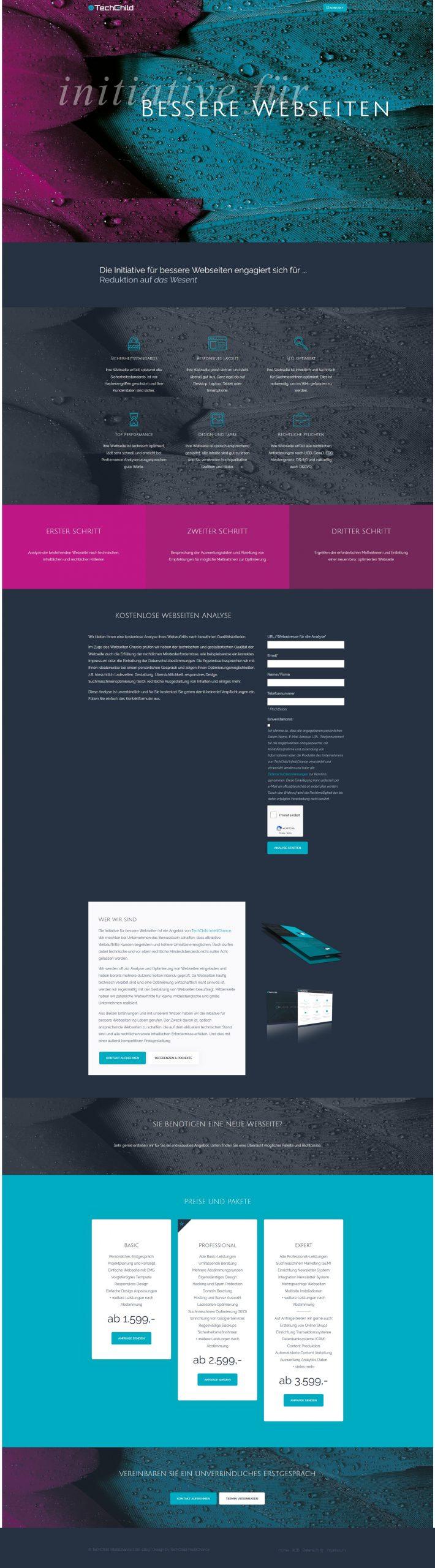 Initiative für bessere Webseiten – TechChild IntelliChance – www.techchild.at