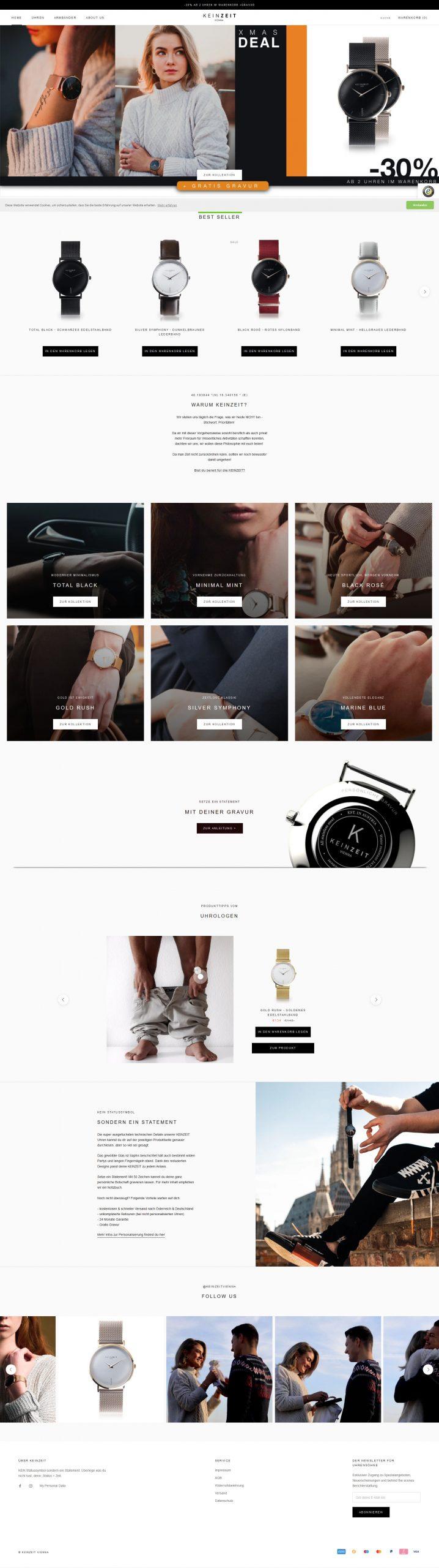 TechChild IntelliChance KEINZEIT Vienna Uhren